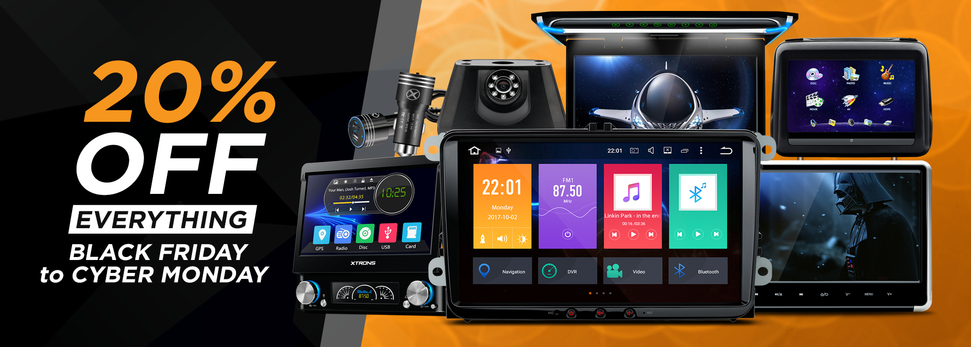 BlackFridayCyberMonday_WebBanner android car stereos, car dvd players, head units xtrons  at reclaimingppi.co