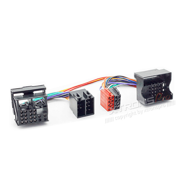 radio adapter iso radio wiring harness cable for bmw land rover rover mini xtrons