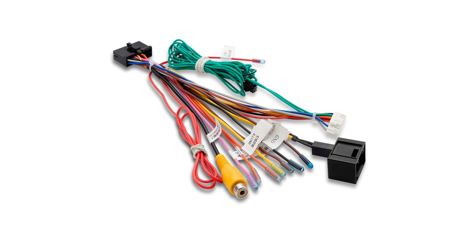 Iso Wiring Harness For Xtrons Mercedes Benz E Cls Series Units Chrysler Adapter Prevnext