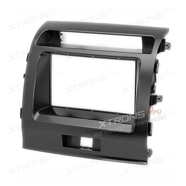 Dash Facia for TOYOTA Land Cruiser 200  (V8) Radio Panel Fascia Surround Install Plate Frame Trim