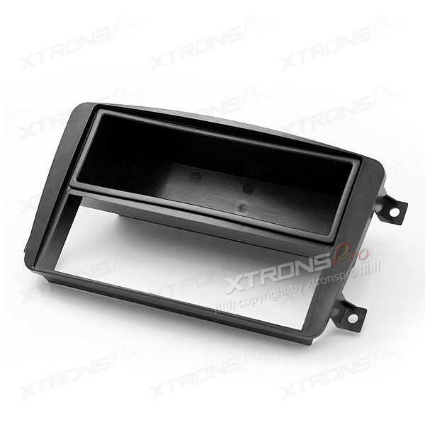 Double Din and Single Din Fascia Panel Fitting Kit Adapter for MERCEDES-BENZ Series Cars(with Pocket)