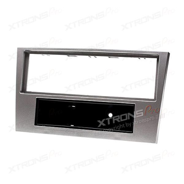 Silver Radio Fascia for Opel/Daewoo/GMC Kit Panel Facia Dash Trim(with pocket)