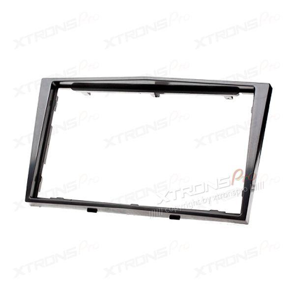Black Radio Fascia for Opel/Daewoo/GMC Double Din Facia Kit Install Panel Plate