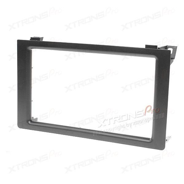 Double Din Car Stereo Fascia Surround Panel for SAAB 9-3 2005 Onwards