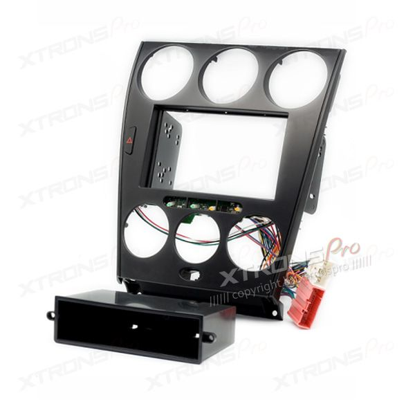 Double Din and Single Din Fascia Panel Fitting Kit Adapter for MAZDA Atenza (with Pocket)