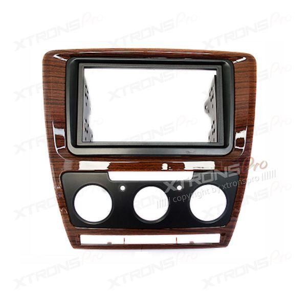 Double Din Fascia Facia Adaptor Panel Surround Stereo for TOYOTA Yaris Vitz