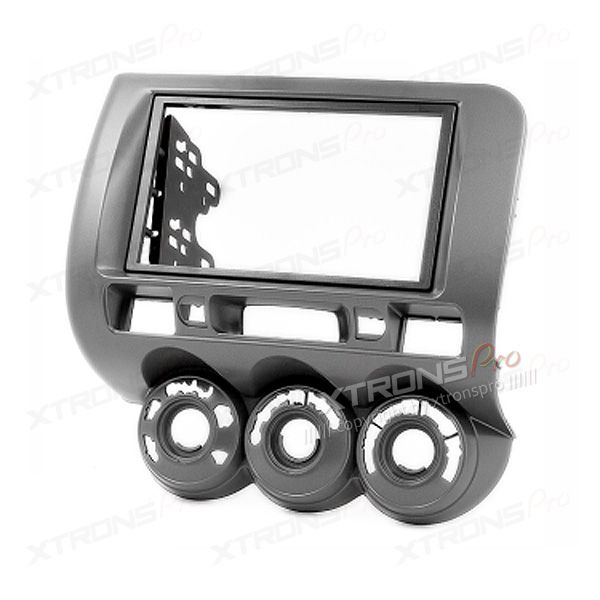 Honda with Manual Air-Conditioning Double Din Fascia Facia Adaptor Panel Surround CD (Right Wheel)