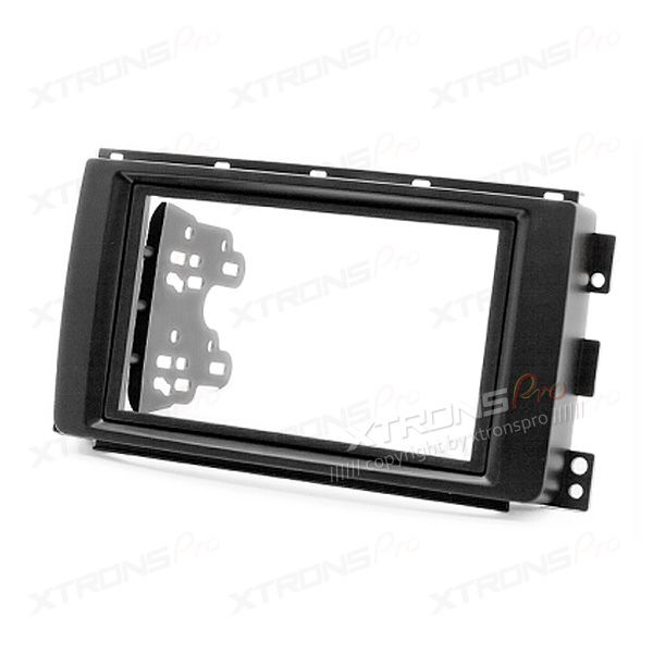 Double Din SMART ForTwo Radio Fascia Panel Adaptor for Car Stereo Head Units