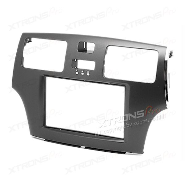 LEXUS ES, TOYOTA Windom Car Stereo Grey Double Din Fascia Plate Adaptor Panel Surround