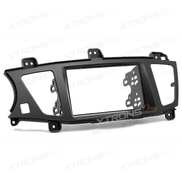 Double Din Stereo Fascia Fitting Kit for KIA Cadenza, K7 (Left wheel)