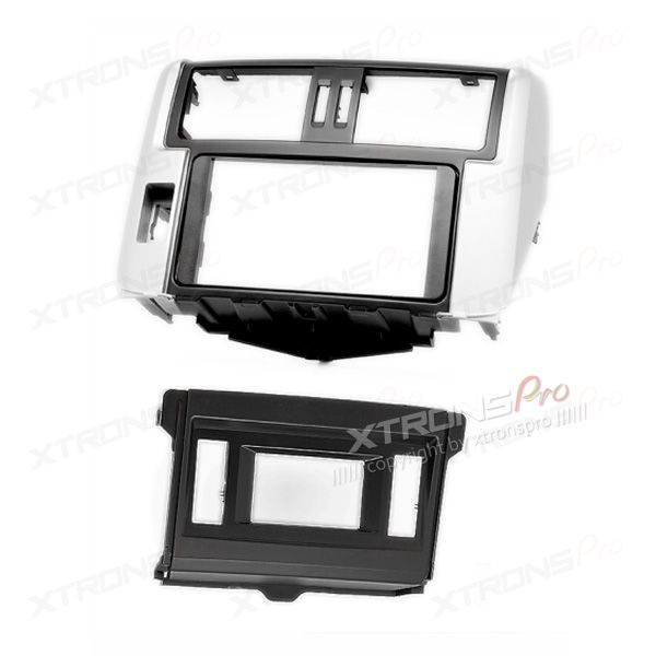"Raido Facia for TOYOTA Land Cruiser Prado (150) Stereo Dash Fascia Kit Panel Trim(with 4.2"" display)"