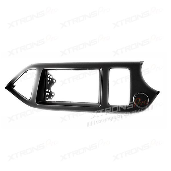 Dash Panel for KIA Picanto, Morning Radio Stereo Single Din Fascia Panel Kit (Right wheel)