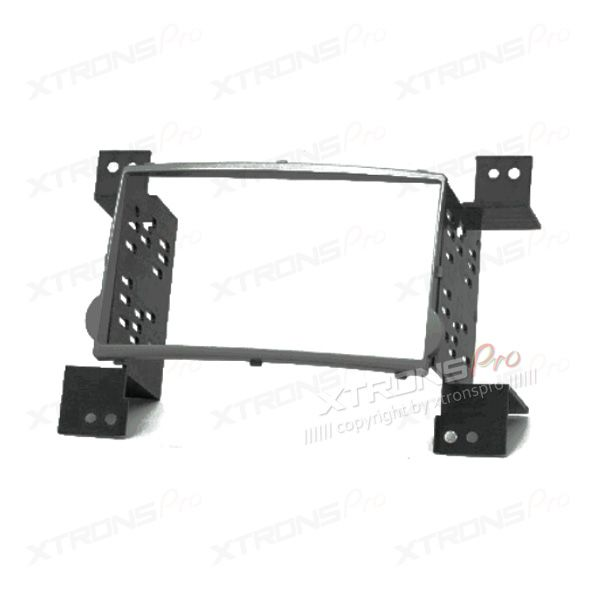 Black Double Din Stereo Fascia Fitting Kit for HYUNDAI H-1 Starex