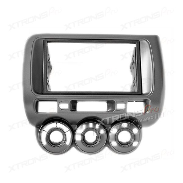 Honda with Manual Air-Conditioning Double Din Fascia Fascia Adaptor Panel Surround CD.