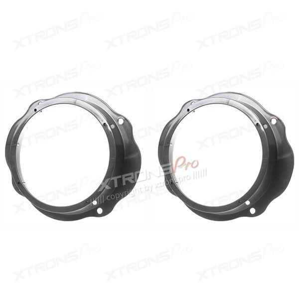 "Ford Focus, C-Max, Kuga 6.5"" Front Doors Speaker Adaptor Plates Rings Pods"