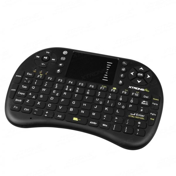 Xtrons AMK002 2.4G Wireless Mini Keyboard Mouse Combo for PC, Android TV Box, Google TV Box, PS3, XBox360