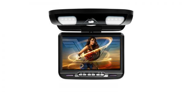 "Xtrons CR903 9"" In Car Roof Mounted DVD Player"