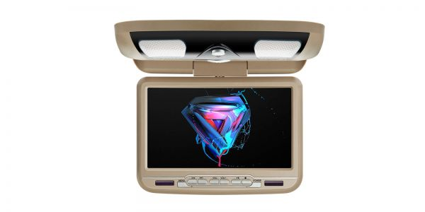 9-inch Car Overhead DVD Player | CR9033Cream