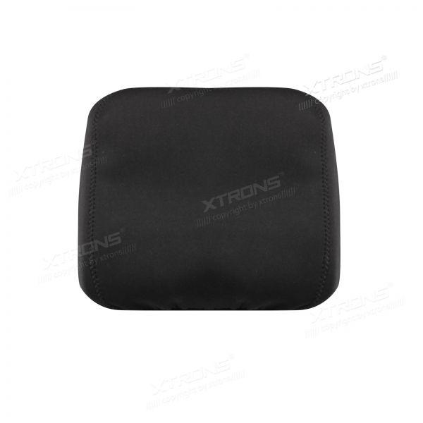 Black Headrest Covers