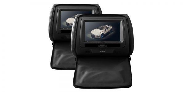 "Xtrons HD705 2 x 7"" Digital In Car Headrest DVD Players"