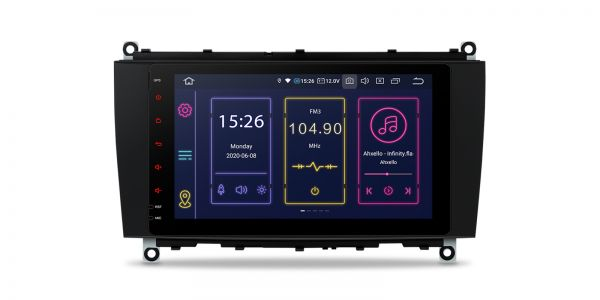 Mercedes-Benz| CLK-Class | Android 10 | Octa Core | 4GB RAM & 64GB ROM | IB80M209SL