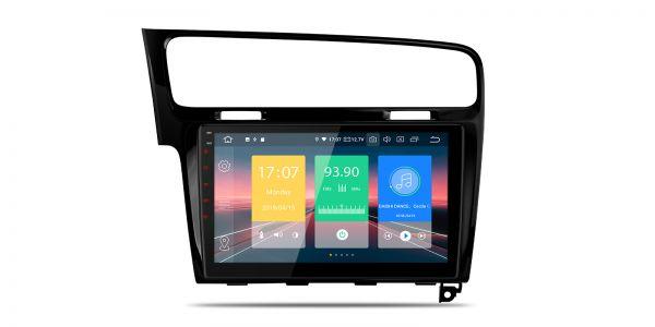 VW | Golf 7 | Android 9.0 | Quad Core | 2GB RAM & 16GB ROM | IN19GFVPL-LB