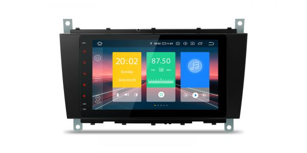 Mercedes-Benz | Various | Android 10 | Quad Core | 2GB RAM & 16GB ROM | IN80M209L