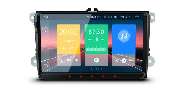 Volkswagen / SEAT / SKODA | Android 10 | Quad Core | 2GB RAM & 16GB ROM | IN90MTVL