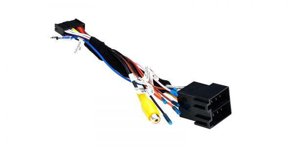 ISO Wiring Harness for the Installation of Toyota RAV4 2012 in XTRONS PF71RVTS