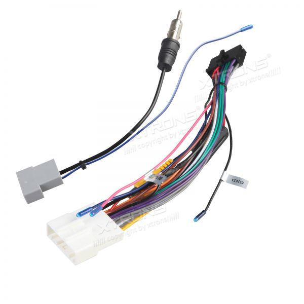 ISO Wiring Harness for the Installation of XTRONS TD626AB & TD626ABD in Nissan Cars