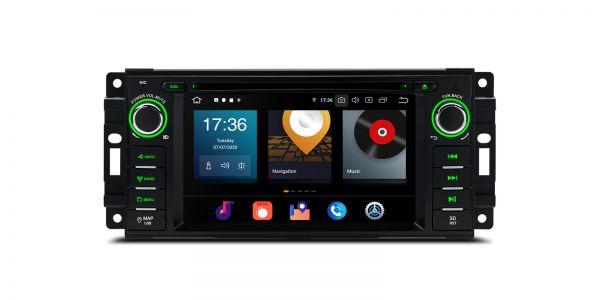 Jeep / Dodge / Chrysler | Various | Android 10 | Octa Core | 4GB RAM & 64GB ROM | PBX60WRJ