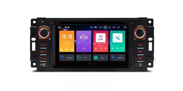 Jeep / Dodge / Chrysler | Various | Android 9.0 | Octa Core | 4GB RAM & 64GB ROM | PBX69WRJ