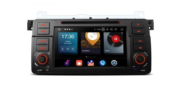 BMW / Rover | Various | Android 10 | Octa Core | 4GB RAM & 64GB ROM | PBX7046B