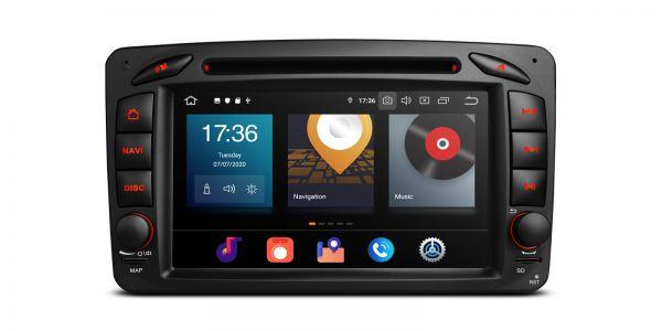 Mercedes-Benz   Various   Android 10   Octa Core   4GB RAM & 64GB ROM   PBX70M203