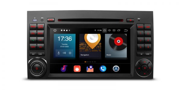 Mercedes-Benz | Various | Android 10 | Octa Core | 4GB RAM & 64GB ROM | PBX70M245
