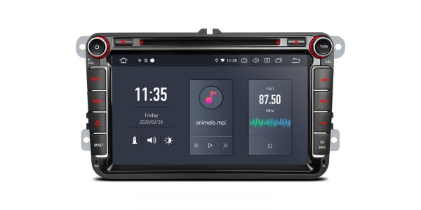 VW / Skoda / Seat | Various | Android 10 | Hexa Core | 4GB RAM & 64GB ROM | PQ80UNV