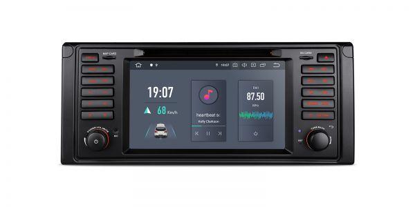 BMW   E39   Android 10   Hexa Core   4GB RAM & 64GB ROM   4K Video Playback   PQS7039B