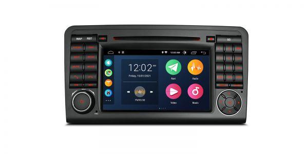 Mercedes| ML-Class/GL-Class | Android 10 | Quad Core | 2GB RAM & 32GB ROM | PSA70M164