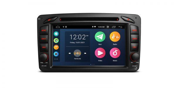 Mercedes| Various | Android 10 | Quad Core | 2GB RAM & 32GB ROM | PSA70M203