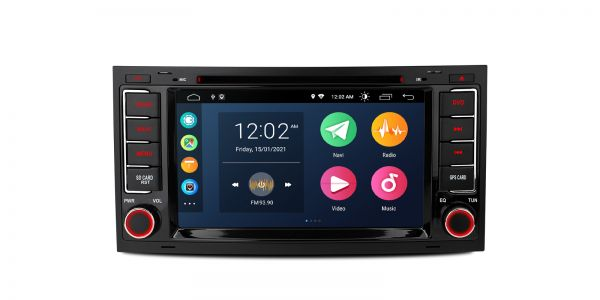 Volkswagen | Various | Android 10 | Quad Core | 2GB RAM & 32GB ROM | PSA70TRV