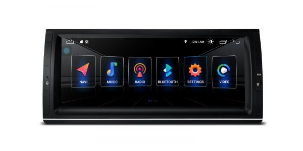 BMW | X5 | Built-in DSP |Android 10 | 2GB RAM & 16GB ROM | PSD1053BL