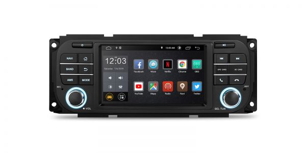 Chrysler / Jeep / Dodge | Various | Android 10 | Quad Core | 2GB RAM & 16GB ROM | PSD50WRJL