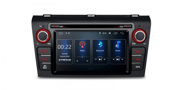 Mazda 3 | Head Unit |Built-in DSP |Android 10 | 2GB RAM & 16GB ROM | PSD70M3M