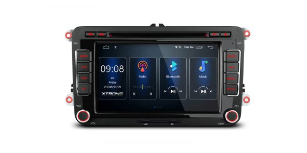 VW / SEAT / SKODA | Various | Built-in DSP |Android 10 | 2GB RAM & 16GB ROM | PSD70MTV