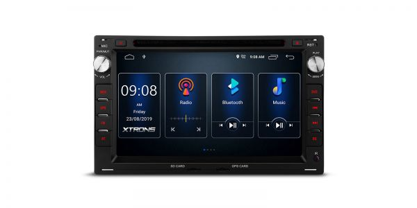 VW / SEAT / SKODA | Various | Built-in DSP |Android 10 | 2GB RAM & 16GB ROM | PSD70MTW