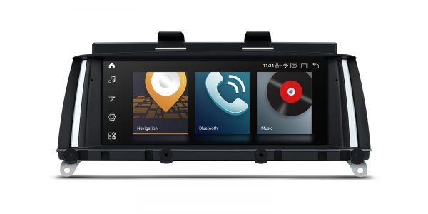 BMW | X3 /X4 | Android 10 | Qualcomm | Octa Core | 4GB RAM & 64GB ROM | QB80X3NB