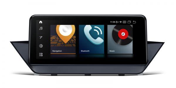 BMW |  X1 | Android 10  | Qualcomm Quad Core | 2GB RAM & 32GB ROM  | QCB10X1CIS