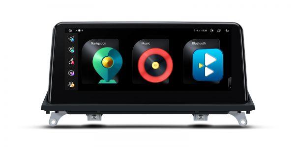BMW |X5 | Android 10 | Octa Core | 4GB RAM & 128GB ROM | Integrated 4G Solution | QFB10X5CC