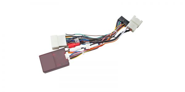 Rockford Decoder for XTRONS Mitsubishi Unit | ISO Wiring Harness | AK/PST10LSM/RF01