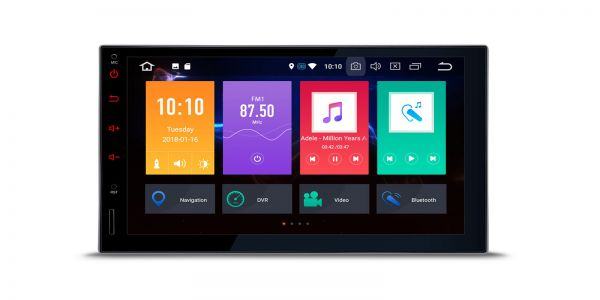 Double DIN   Android 8.0   Octa Core   2GB RAM & 32GB ROM   TB708PL